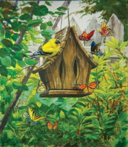 The Butterfly House Butterflies and Insects Jigsaw Puzzle