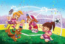 Soccer (Go Girls Go! ) Sports Jigsaw Puzzle