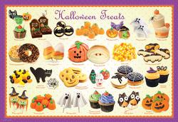 Halloween Treats Sweets Jigsaw Puzzle