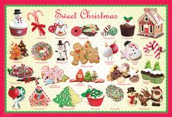 Sweet Christmas (Play & Bake Sweet Puzzles) Food and Drink Jigsaw Puzzle