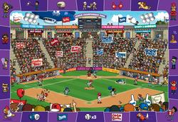 Baseball Sports Hidden Images