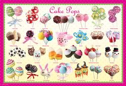 Cake Pops (Play & Bake Sweet Puzzles) Food and Drink Jigsaw Puzzle