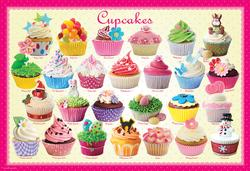 Cupcakes (Play & Bake Sweet Puzzles) Food and Drink Jigsaw Puzzle