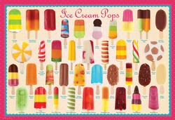 Ice Cream Pops Pattern / Assortment Children's Puzzles