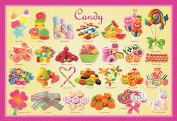 Candy Food and Drink Children's Puzzles
