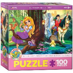 Day in the Forest Cartoons Children's Puzzles