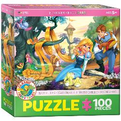 Beautiful Hair Princess Children's Puzzles