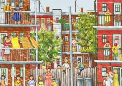 The Neighbor Gets Married Cities Jigsaw Puzzle