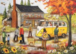 Expo67 Souvenir Sunflower Jigsaw Puzzle