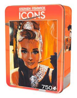 Icons - Breakfast Famous People Jigsaw Puzzle
