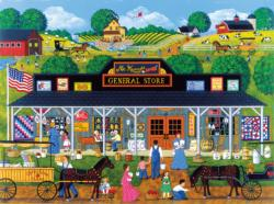McKenna's General Store - Scratch and Dent Landscape Jigsaw Puzzle
