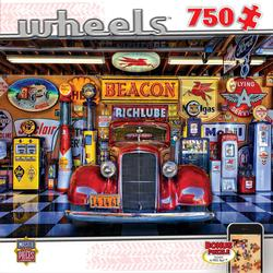Wheels - At Your Service Cars Jigsaw Puzzle