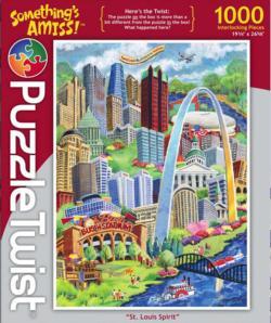 St. Louis Spirit St. Louis Jigsaw Puzzle