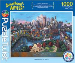 Downtown St. Paul Cities Jigsaw Puzzle