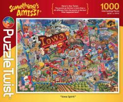 Iowa Spirit Collage Impossible Puzzle