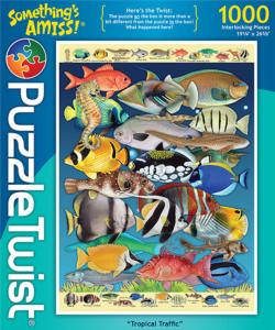 Tropical Traffic (Something's Amiss) Fish Jigsaw Puzzle