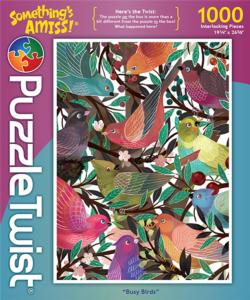 Busy Birds Collage Jigsaw Puzzle