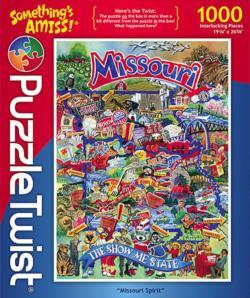Missouri Spirit St. Louis Jigsaw Puzzle