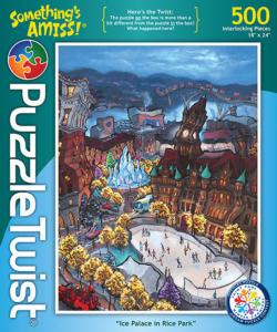 Ice Palace in Rice Park Winter Jigsaw Puzzle