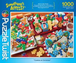 Cookies at Christmas Christmas Jigsaw Puzzle