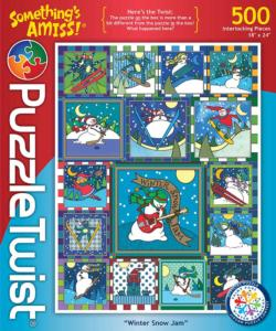 Winter Snow Jam Winter Jigsaw Puzzle