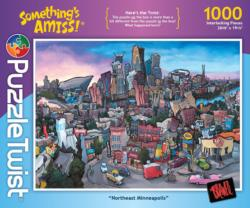 Northeast Minneapolis Cities Jigsaw Puzzle