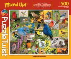 Songbird Serenade Collage Jigsaw Puzzle