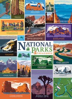 National Parks and Treasures National Parks Jigsaw Puzzle
