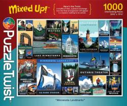 Minnesota Landmarks Collage Jigsaw Puzzle