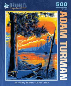 Boundary Water Canoe Area Lakes / Rivers / Streams Jigsaw Puzzle