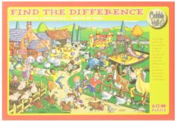 Naughty Puppy (Find the Difference) Cartoons Jigsaw Puzzle