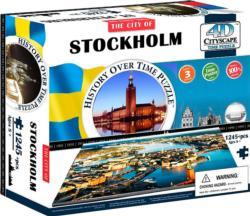 Stockholm Cities 4D Puzzle