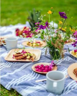 Spring Picnic Outdoors Jigsaw Puzzle