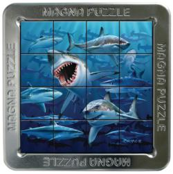 Sharks Under The Sea Lenticular Puzzle