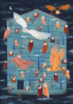 Owl House Owl Jigsaw Puzzle