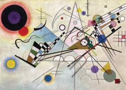 Composition 8 Fine Art Jigsaw Puzzle