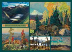 Carmichael Collection Canada Jigsaw Puzzle