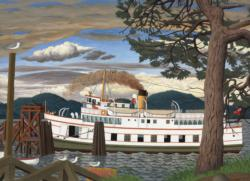 The Car Ferry at Sidney BC Lakes / Rivers / Streams Jigsaw Puzzle
