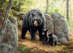 Mama Bear Wildlife Jigsaw Puzzle
