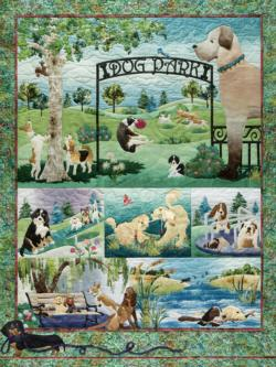 Dog Park Outdoors Jigsaw Puzzle