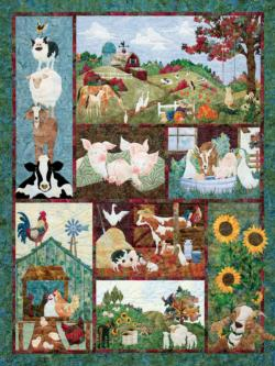 Back on the Farm Crafts & Textile Arts Jigsaw Puzzle