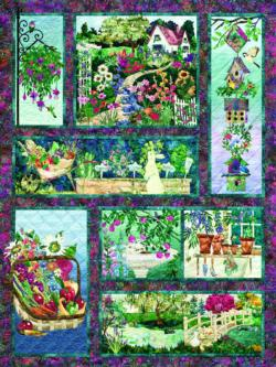 In Full Bloom Pattern / Assortment Jigsaw Puzzle