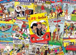 Archie Covers - Scratch and Dent Collage Jigsaw Puzzle