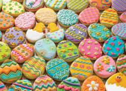 Easter Cookies Pattern / Assortment Jigsaw Puzzle