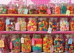 Candy Counter Sweets Jigsaw Puzzle
