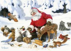 Santa Claus and Friends Christmas Family Puzzle