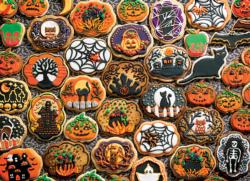 Halloween Cookies Food and Drink Jigsaw Puzzle