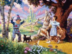 The Wizard of Oz Movies / Books / TV Family Puzzle