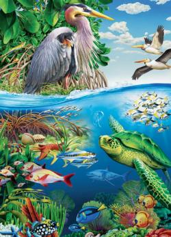 Earth Day Under The Sea Family Puzzle