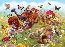 Garden Scene Garden Family Puzzle